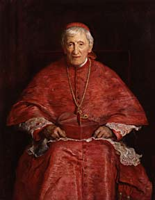 John Henry Newman by Sir John Everett Millais (London, National Portrait Gallery)